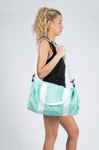 Unisex Barrell Gym Bag Mint