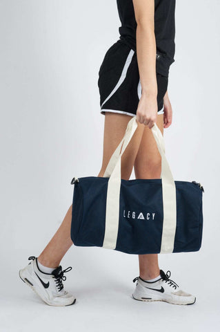 Unisex Barrell Gym Bag Navy