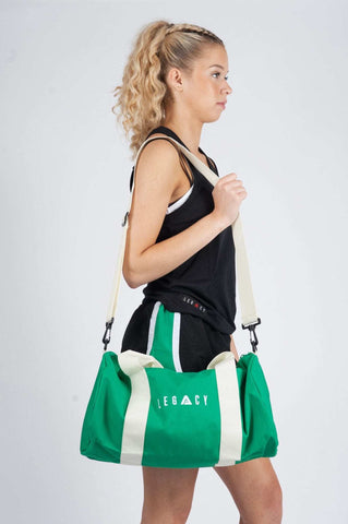 Unisex Barrell Gym Bag Green