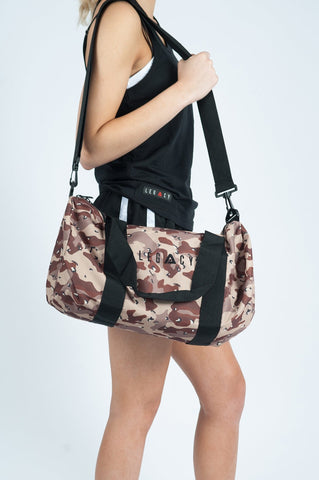 Unisex Barrell Gym Back Camo Sand