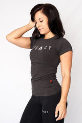 Signature T shirt Graphite
