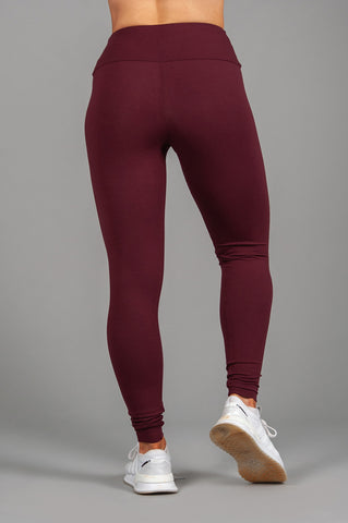 Zhu Leggings Burgundy