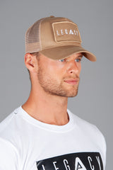Patch Trucker Cap Sand