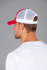 Trucker Cap Red/white