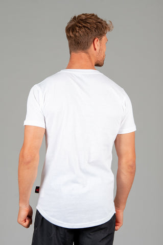 Layered Logo White T shirt