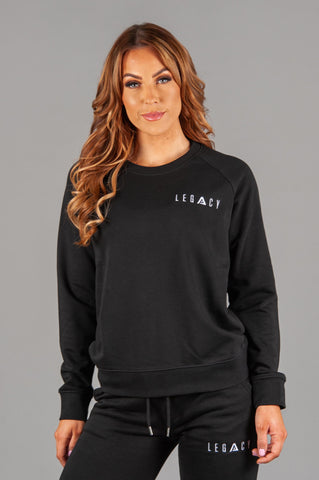 Rest Day Sweater Black