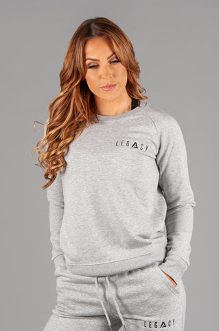 Rest Day Sweater Heather Grey