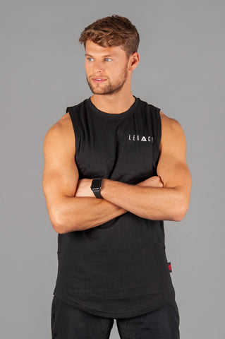 Signature Arm drop Tank Black