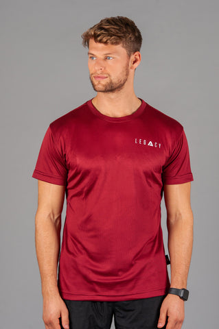 AirFlow 02 T shirt Burgundy