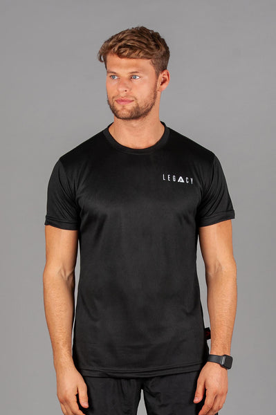 Air Flow 02 T Shirt Black
