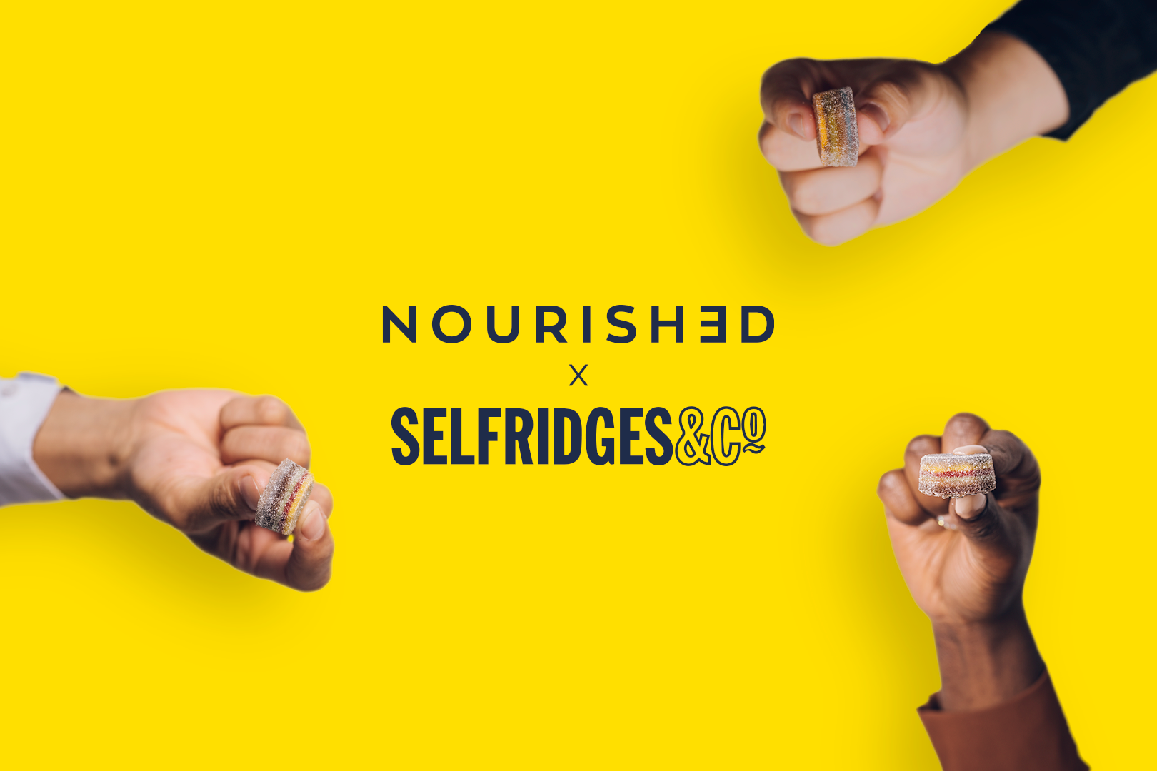 Nourished has exclusively launched in Selfridges