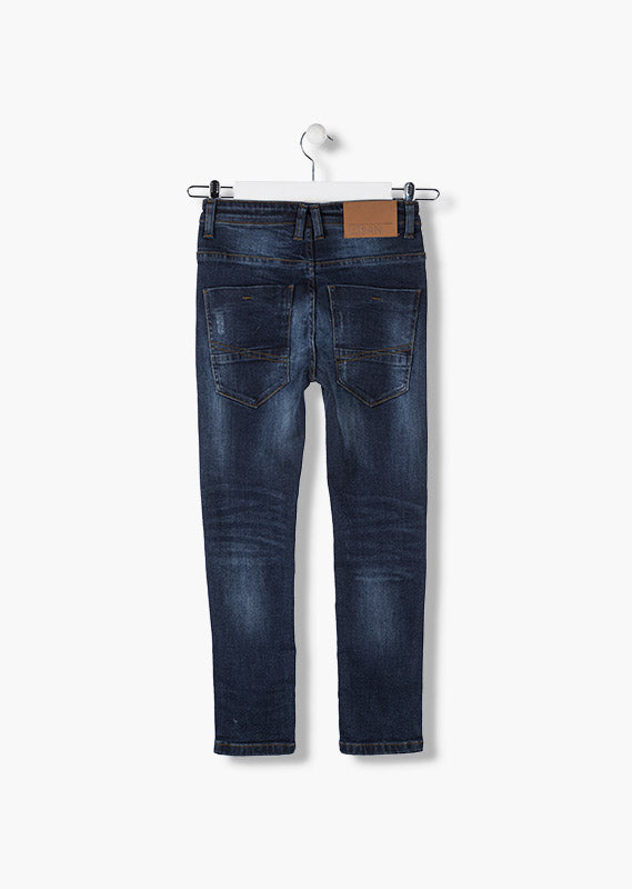 Pantalon vaquero niño denim slim fit de Losan