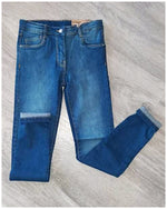 Pantalon vaquero niña denim slim fit de Losan