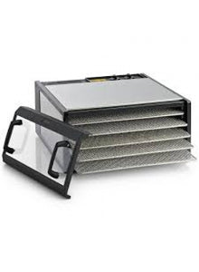 Stainless 5 tray Excalibur Dehydrator  *Special bank deposit price* FREE book
