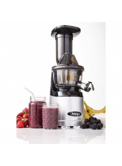 MMV602SI Omega vertical slow masticating juicer