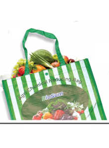 Chemical reducing fruit and veggie bag