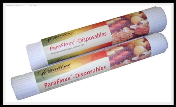 Disposable paraflex Sheets:  Roll of 100, by Excalibur