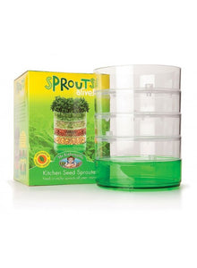Kitchen seed sprouter:  multi tier