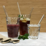 Dharma glass straw:  Simple Elegance