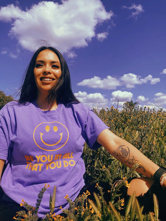 Be You Tee (Lavender)