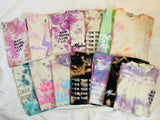 Size Medium One of a Kind Tie Dye Tees (multiple options)