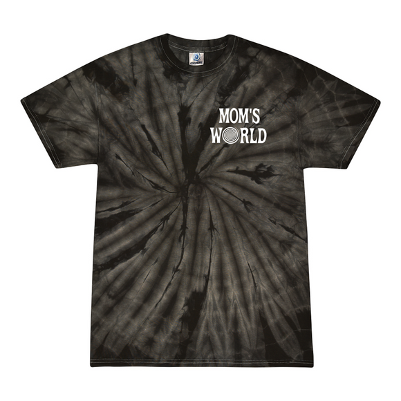 Mom's World Black Swirl Kids Tee
