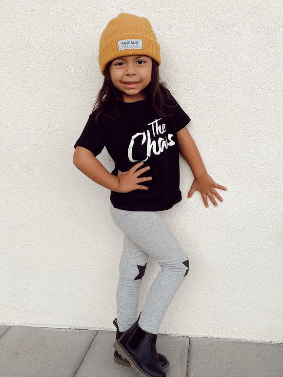 The Chaos Kids Onesie or Tee in Black