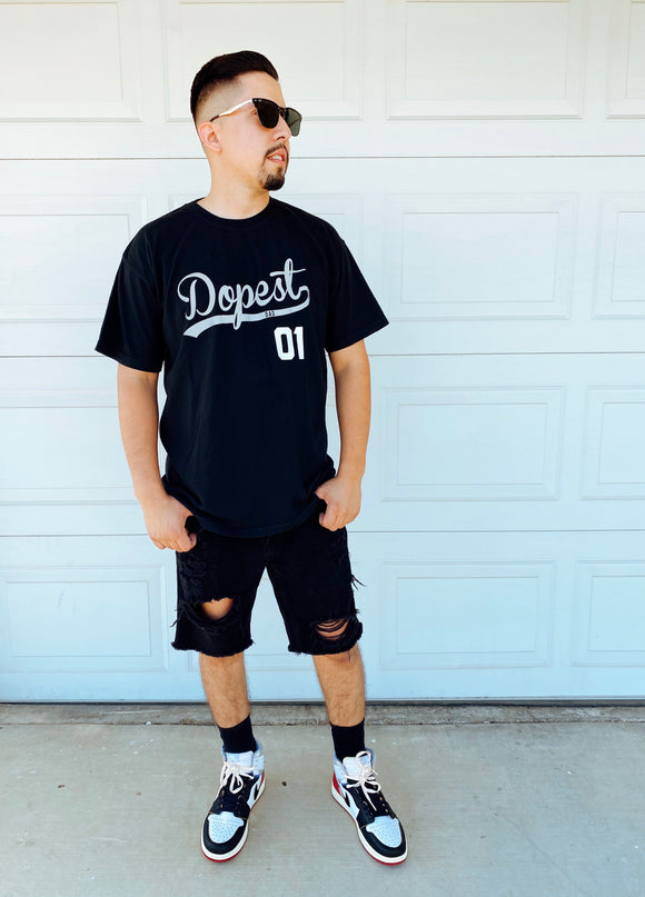 Dopest Dad Tee (black)