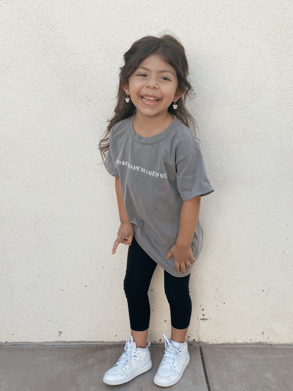 Smart.Brave.Beautiful. Kids Tee