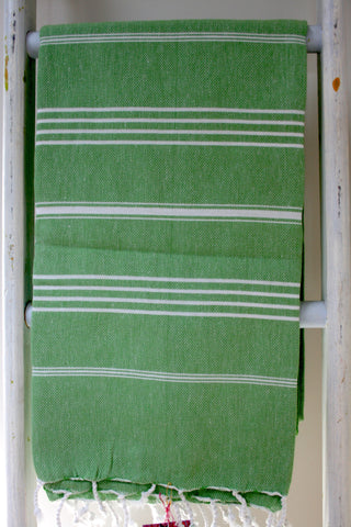 THE HANDTOWEL APPLE GREEN