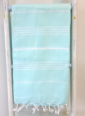 THE HANDTOWEL AQUA