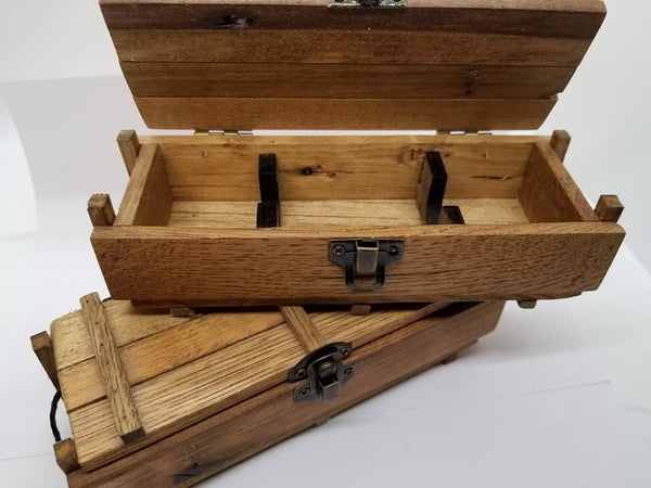 Handmade ammo crate pen box