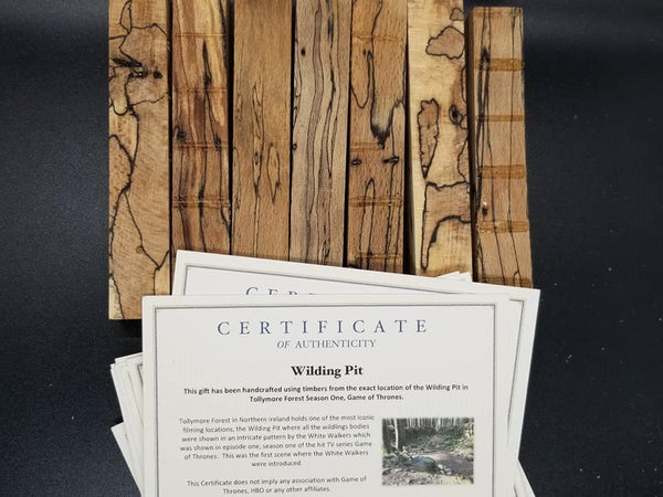 Game Of Thrones Spalted Wildling Pit Season 1