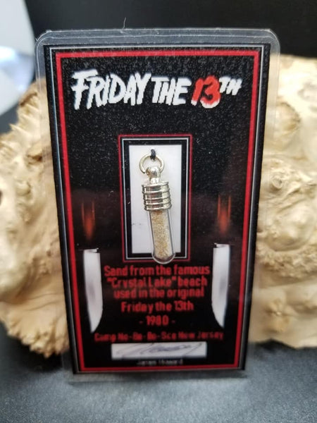 Friday The 13th Film Location sand vial