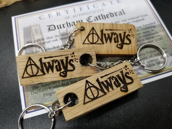 Harry Potter Always keychain