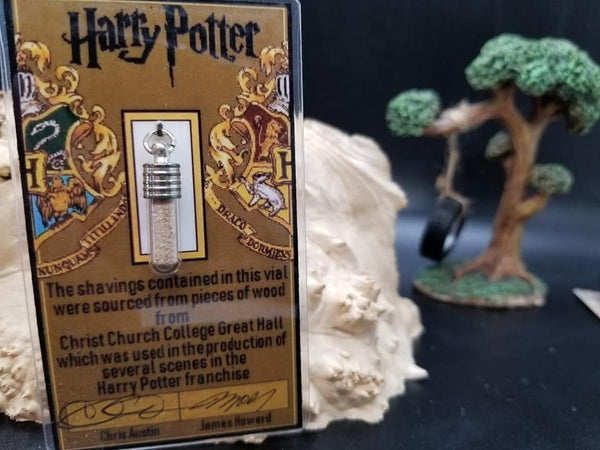 Harry Potter Great Hall Necklace Charm