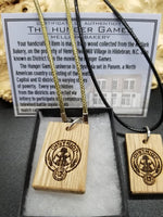 Hunger Games Mellark Bakery necklace pendant
