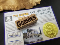 Engraved Goonies house crafting/display piece