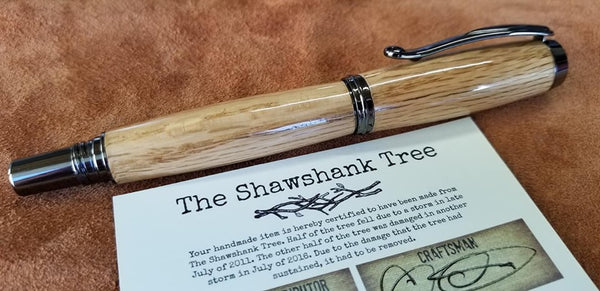 HIGH GLOSS FINISH SHAWSHANK ROLLERBALL $95 + SHIPPING