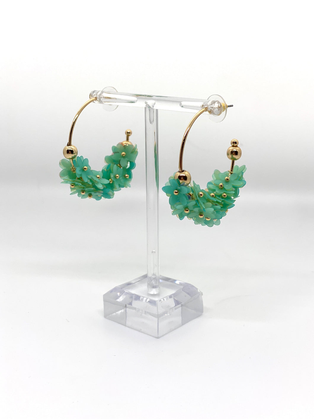 Open Air Floral Earrings