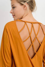 Load image into Gallery viewer, Large Amber Gold Long Sleeve