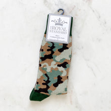 Load image into Gallery viewer, Camo Socks