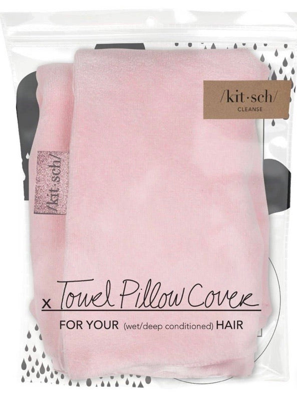 Kitsch Towel Pillow Case Blush