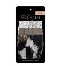 Load image into Gallery viewer, Kitsch 3 pack mask set