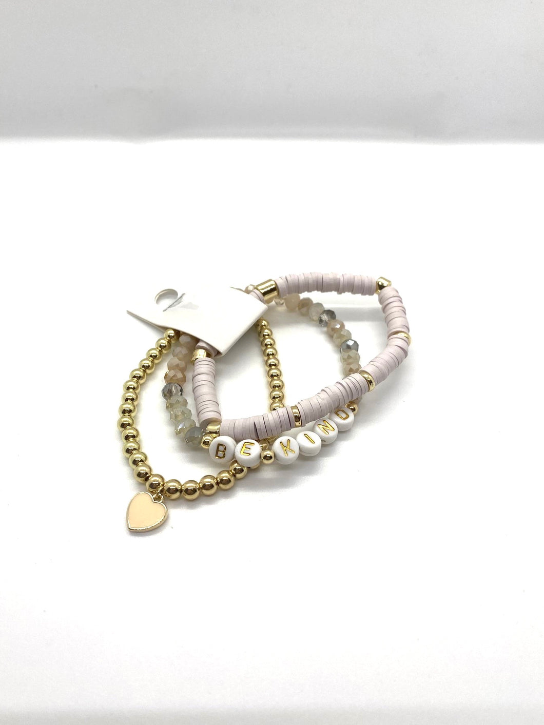 Be Kind Bracelet Stack