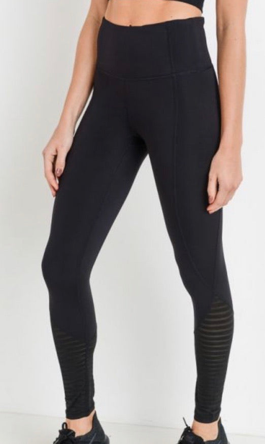 Small Basic Black Leggings