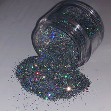 Load image into Gallery viewer, Fine Holographic Glitter (0.2mm and 0.4mm)