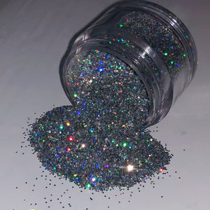 Fine Holographic Glitter (0.2mm and 0.4mm)