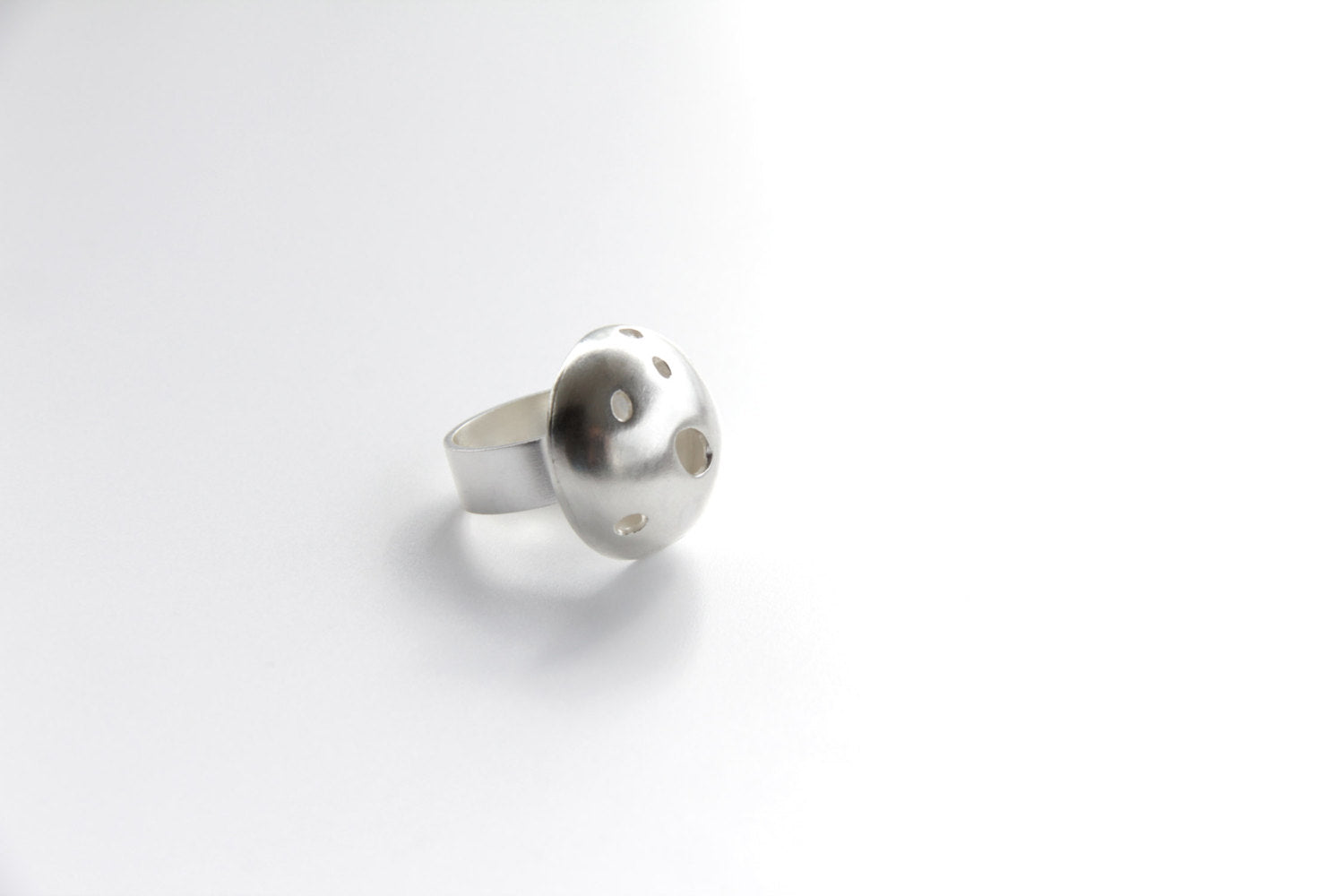 Sterling Silver Bubble Ring