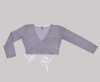 CACHE COEUR - This Versatile Cahe Coeur Wrap Over Top is Ideal For All Yoga Classes. SOLD OUT.Enquires welcome.